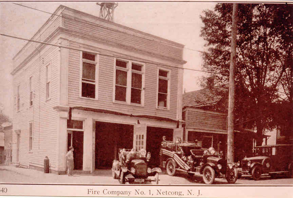 Historic Fire Station Netcong NJ