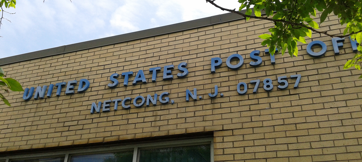 Post Office Netcong New Jersey NJ
